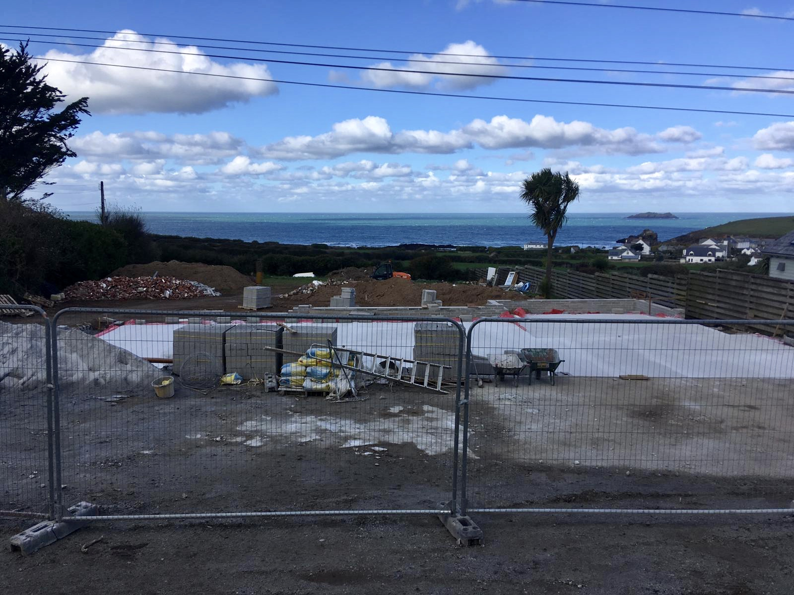 Concrete Slab is Dry! (October 28th 2018)