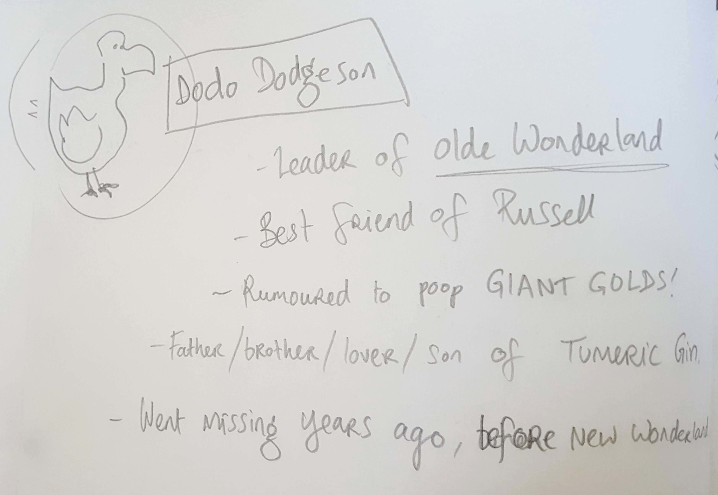 dodo dodgeson