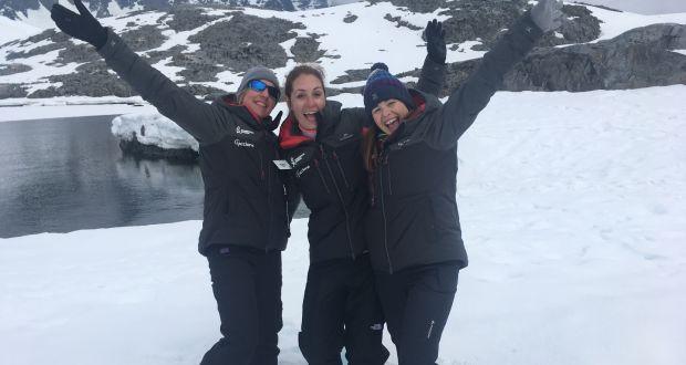 Dr. Tara Shine in Antarctica Jan 2019