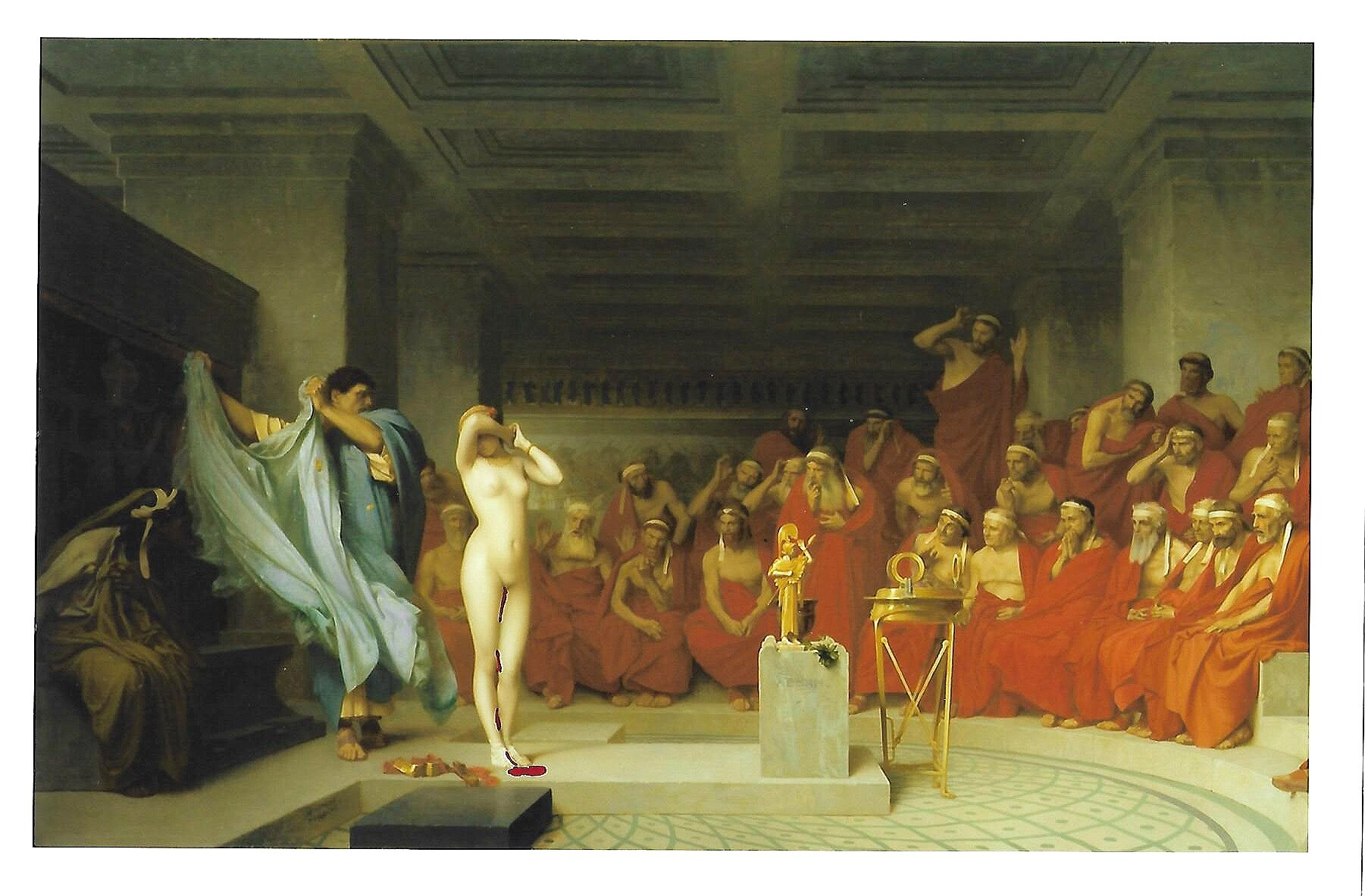 Phryne Before the Areopagus