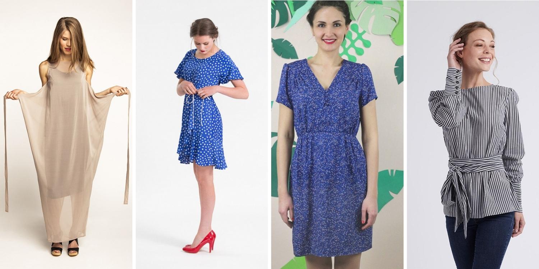 Slå-om kjole ,  sommerkjole 1 ,  sommerkjole 2 ,  Skjorte