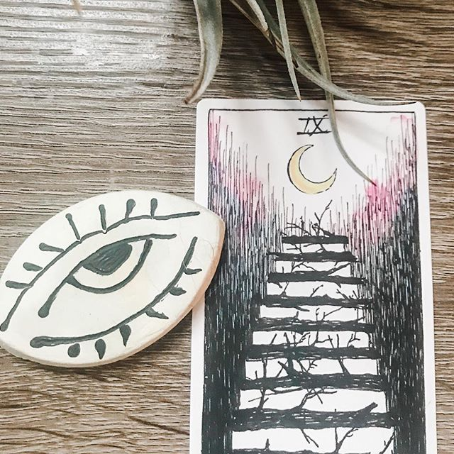 Whenever I pull the 9 of wands I feel both somber and hopeful. In this reading the 9 of wands means the hard work is soon completed, the steps of the long hard journey have been laid and the climbing is almost done. Somber that it's not done yet, hopeful that the end of such hard work is near.⠀ ⠀ Being in touch with Intuition means I get the message almost immediately.⠀ ⠀ This year has been full of lots of changing & foundation building (opening a counseling center, getting married, moving!). I am fully looking forward to some calm and predictable ✨⠀ ⠀ This business account, the website, and the blog are almost ready for you. The 9 of wands confirms it!⠀ ⠀ #intuition #tarot #selflove #journaling #mystic #moonchild #lifestyle #lifecoaching #therapy #healing #celestial #intuitivehealing #thewildunknown ⠀ ⠀ ⠀