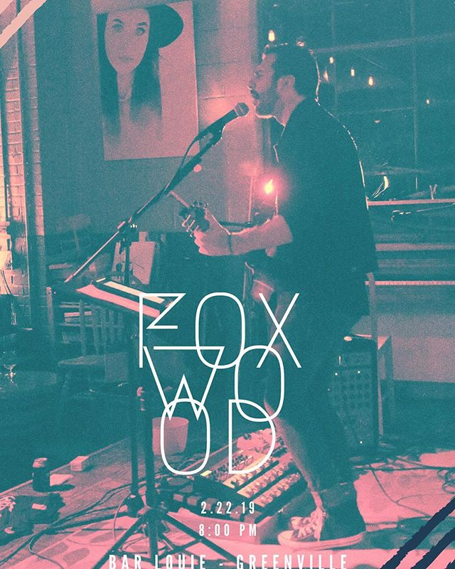 Be sure to come out to @barlouiegreenville on 2/22 for a night with Foxwood.
