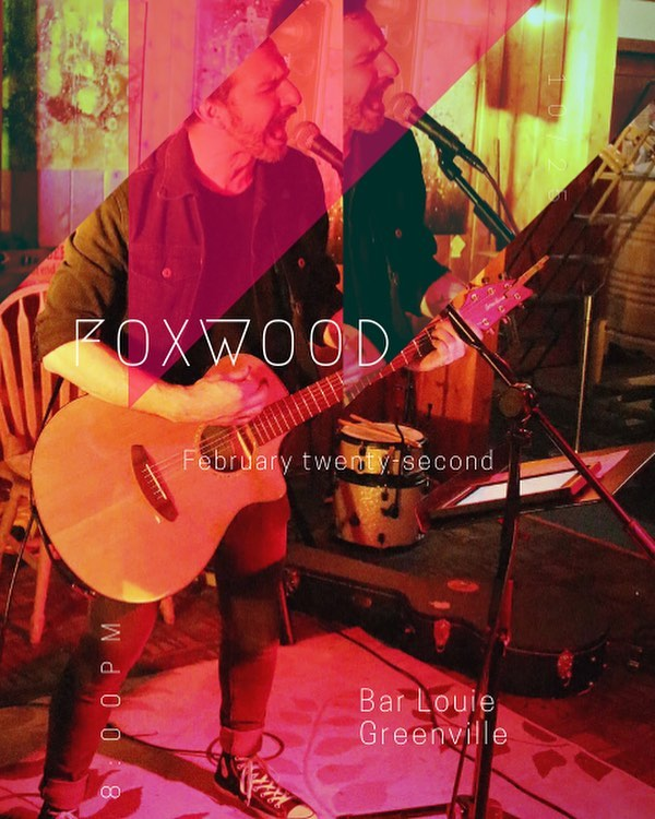 Don't miss this Friday night at @barlouiegreenville where I'll be playing from 8-12. I'll be doing my original songs and a bunch of covers. Come get some food and a drink with me!!! . . . #foxwood #supportlocalmusic #yeahthatgreenville #bestingreenville #newmusic #greenvillesc #upstate #upstatesc #upstatevibe365 #localarts #livemusic #sc #southcarolina #intheknowupstate #greenville360