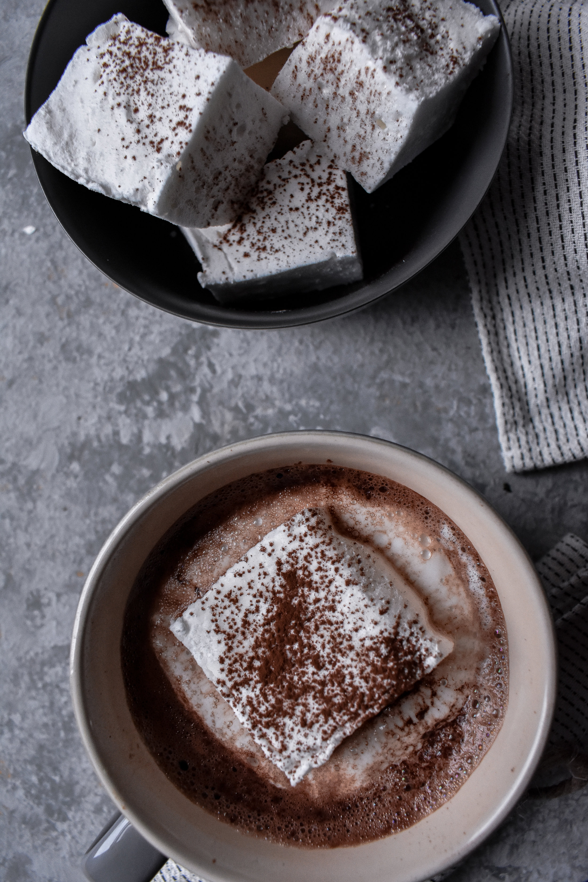 Green & Blacks Hot Chocolate with Vanilla Marshmallow