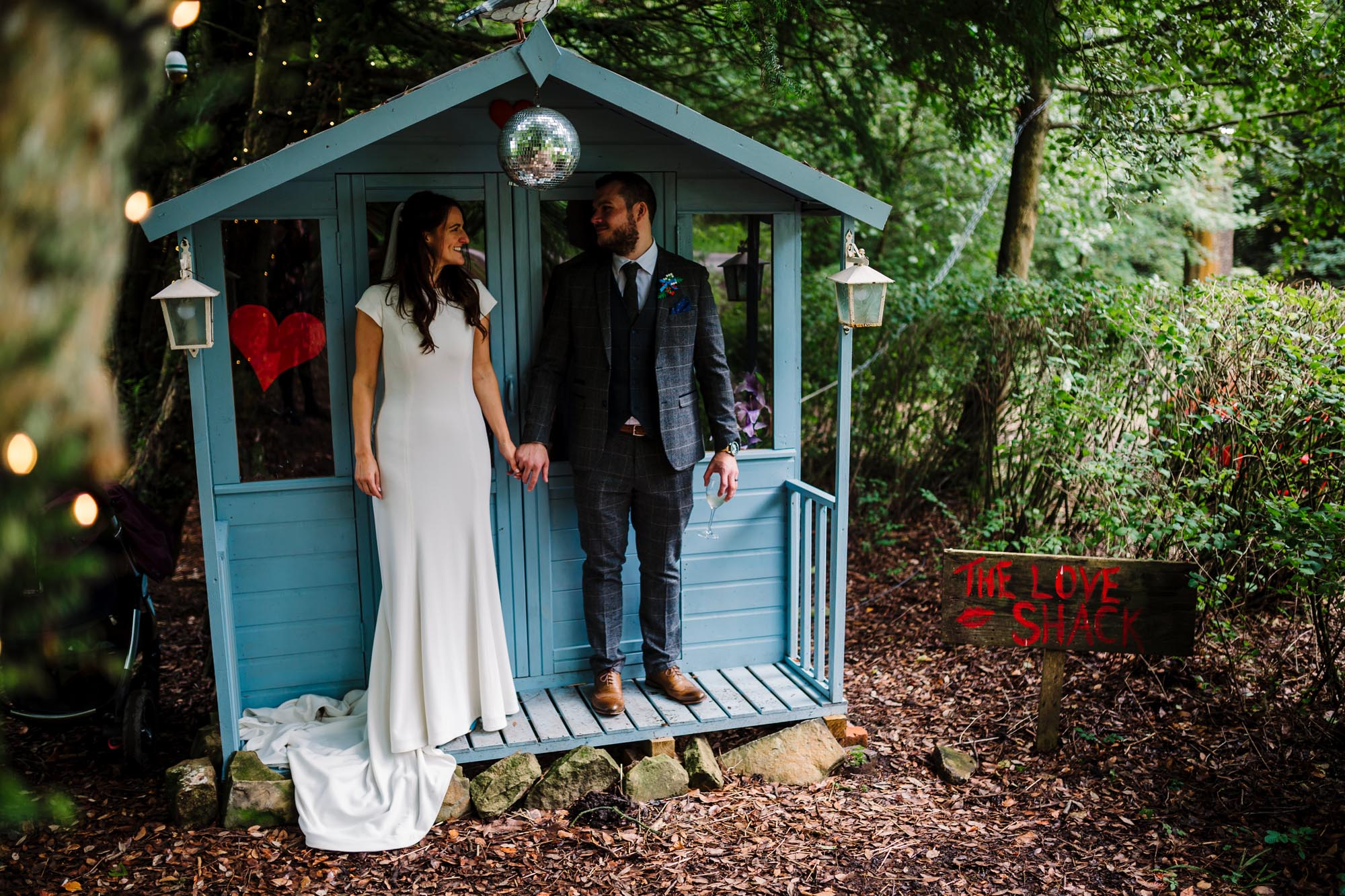 Wedding in the Woodlands of Lancashire