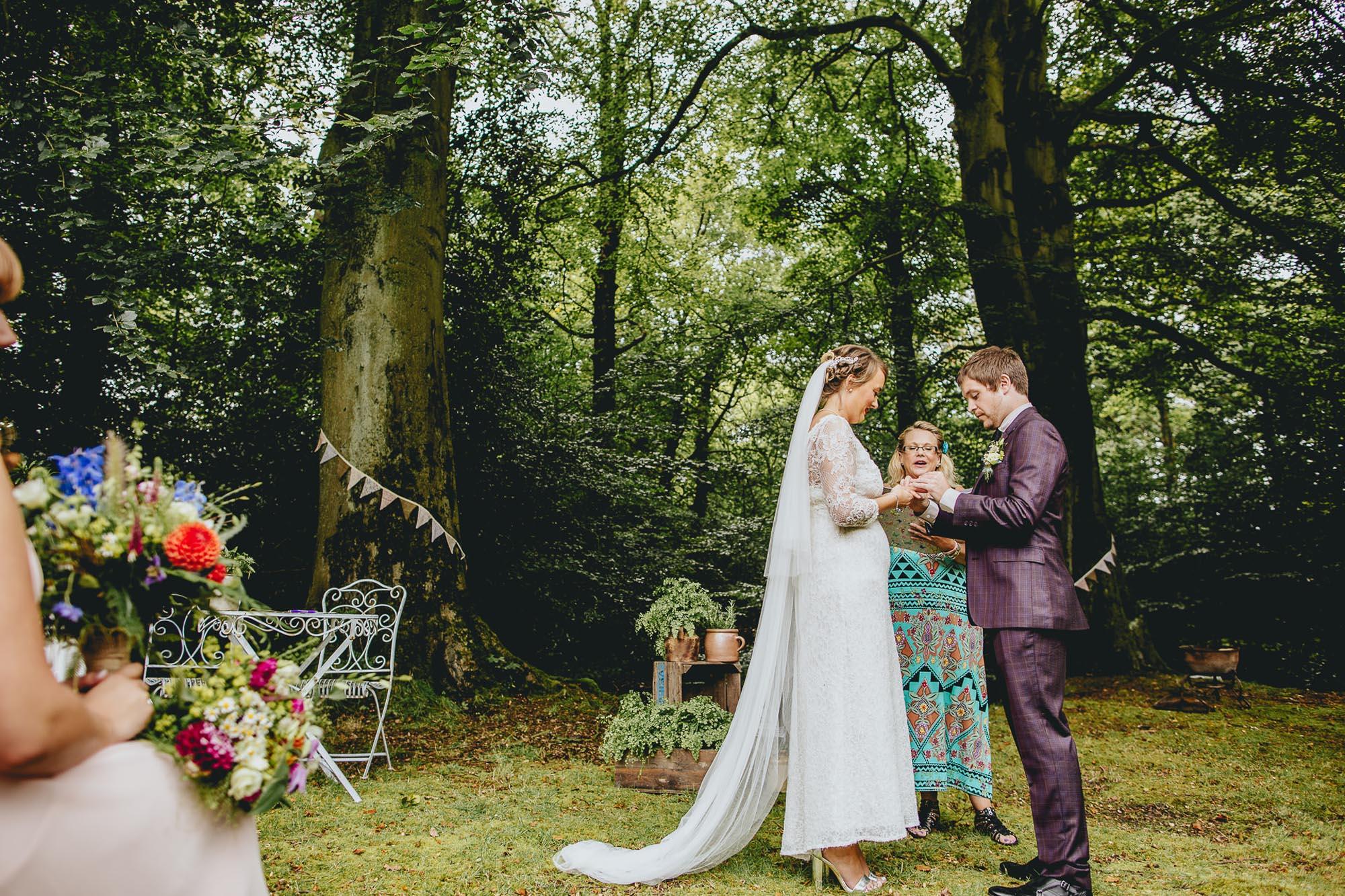 Wedding Celebration at Spring Cottage Lancashire