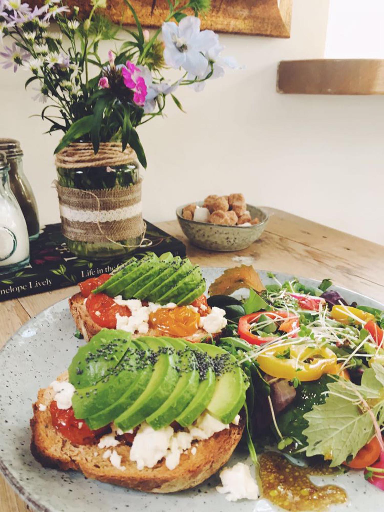 Organic Food at Spring Cottage Cafe