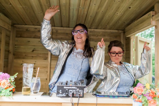 DJs for a Party at Spring Cottage Cafe Lancashire