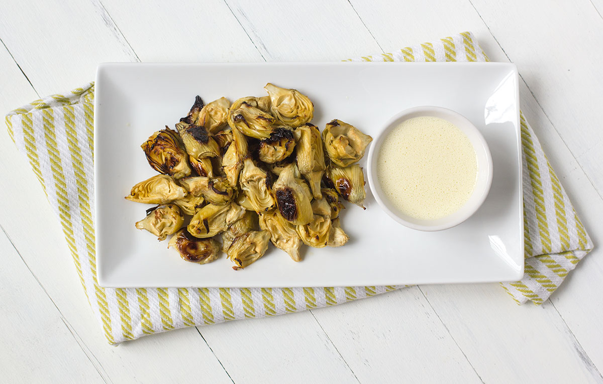 Try this dish sans zucchini and serve with the sauce on the side as an appetizer!