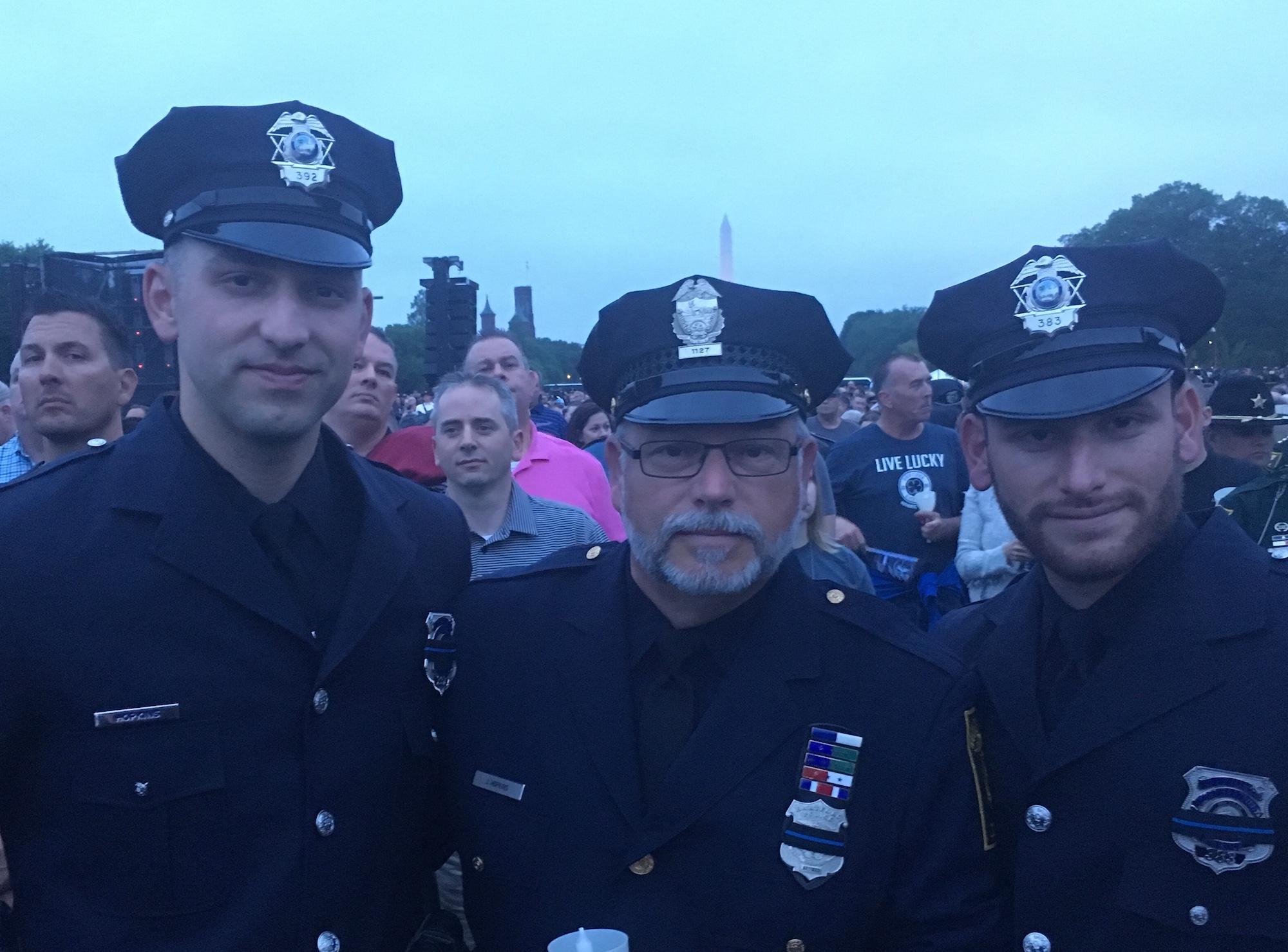 Deputies at an event