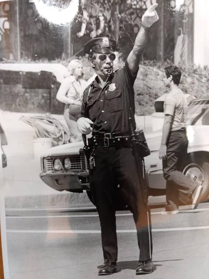 The dancing cop