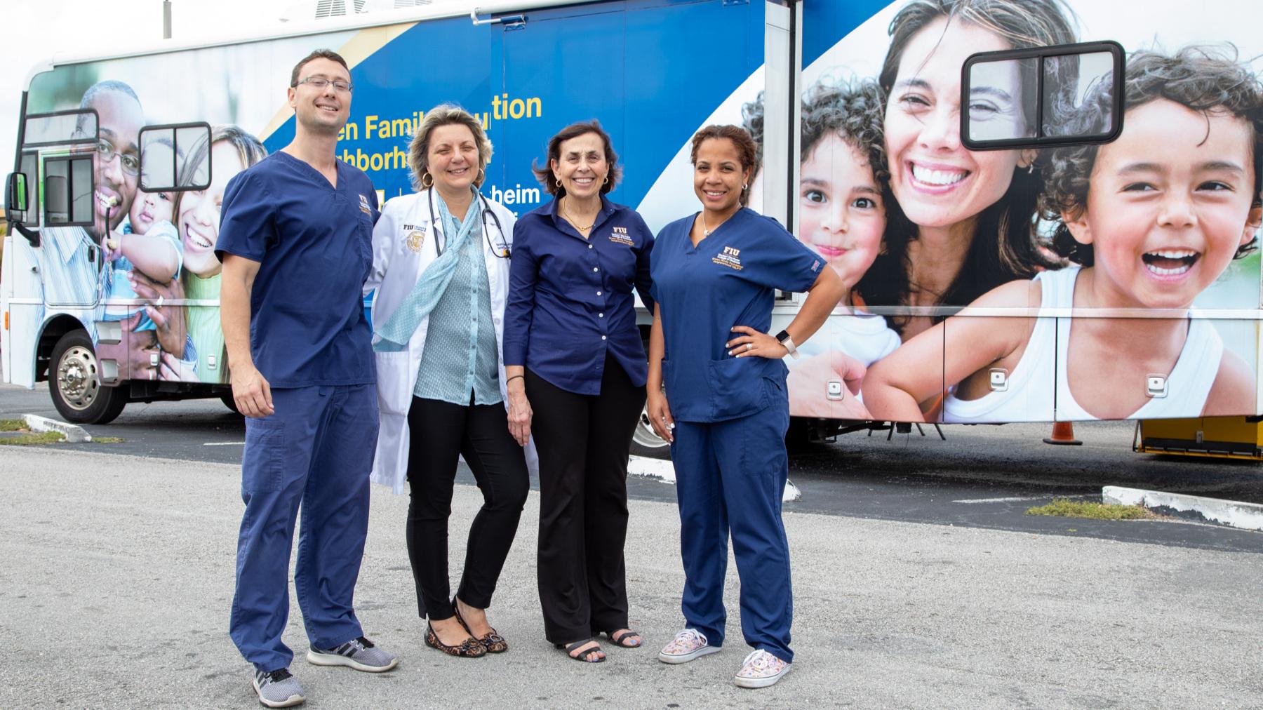 FIU Mobile Health Clinic Team