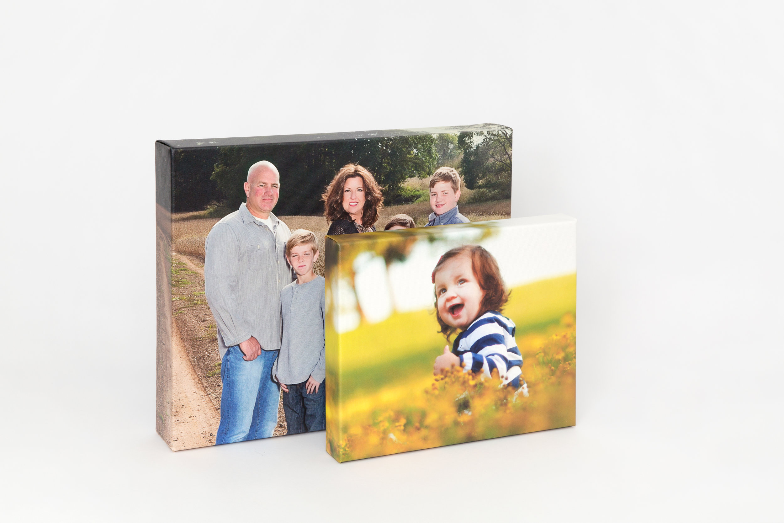 High Quality Canvas - Canvas that will meet your needsGallery Wraps are printed on premium canvas and wrapped around a stretcher bar. With museum-like quality, you'll love your very own original masterpiece.