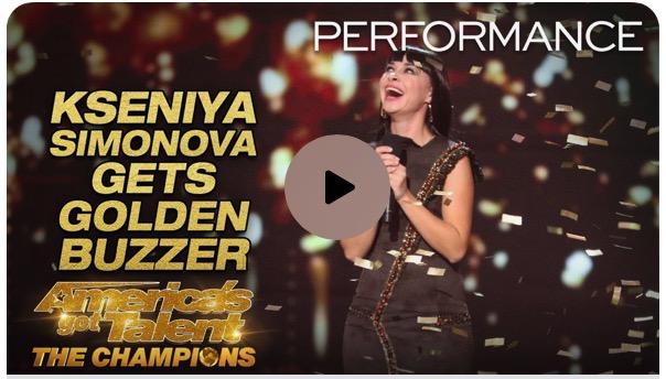 AGT: The Champions' Host Terry Crews Slams Golden Buzzer for Jaw-Dropping Sand Artist Kseniya Siminova