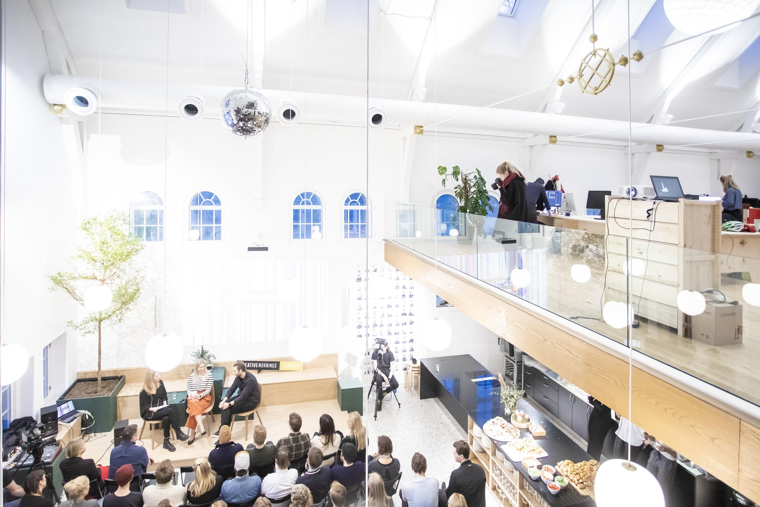 De nye lokalene til EGGS design altså.. Snakk om å legge til rette for kreativitet og godt arbeidsmiljø!
