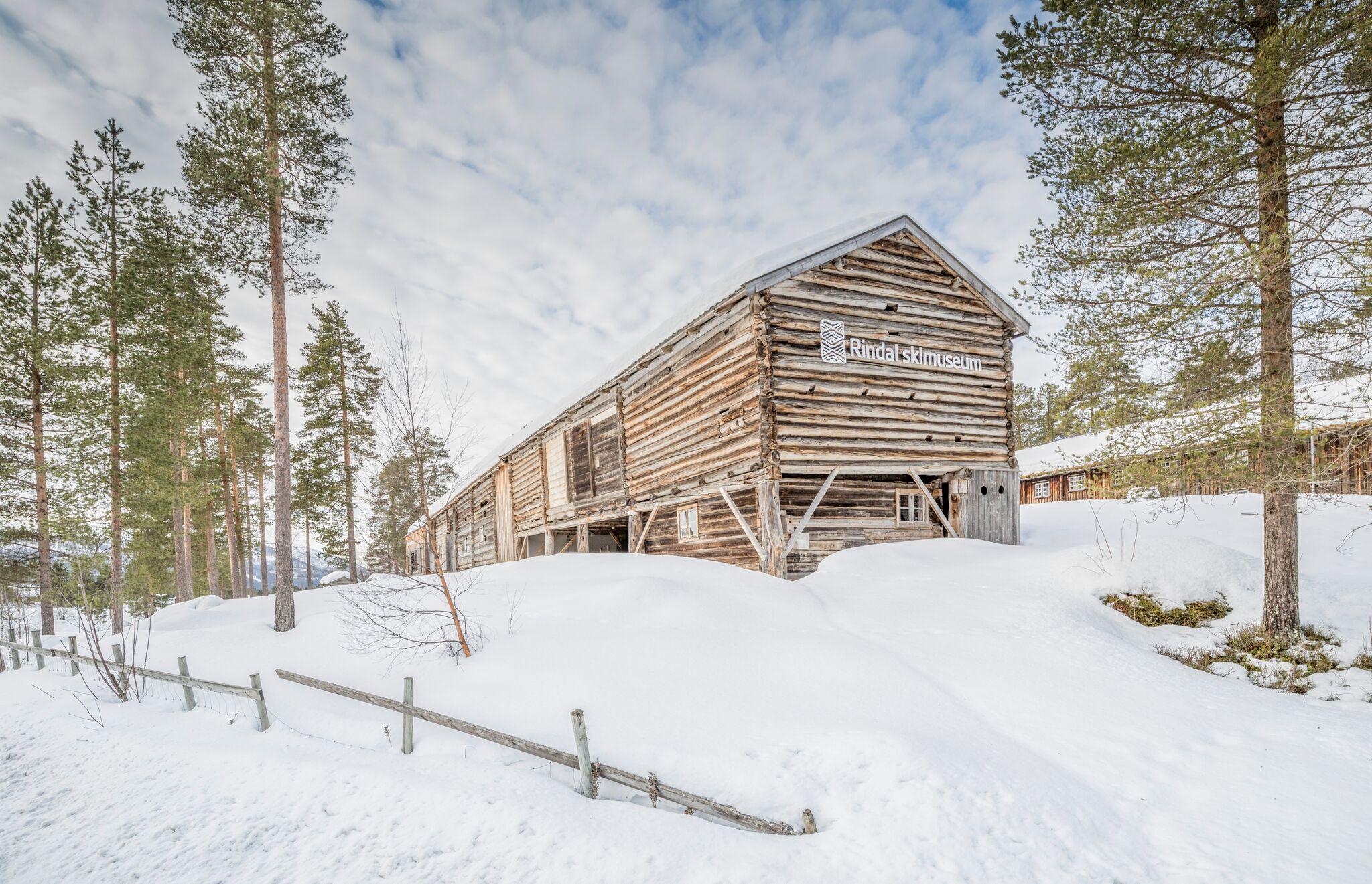 … OG Rindalen Skimuseum!