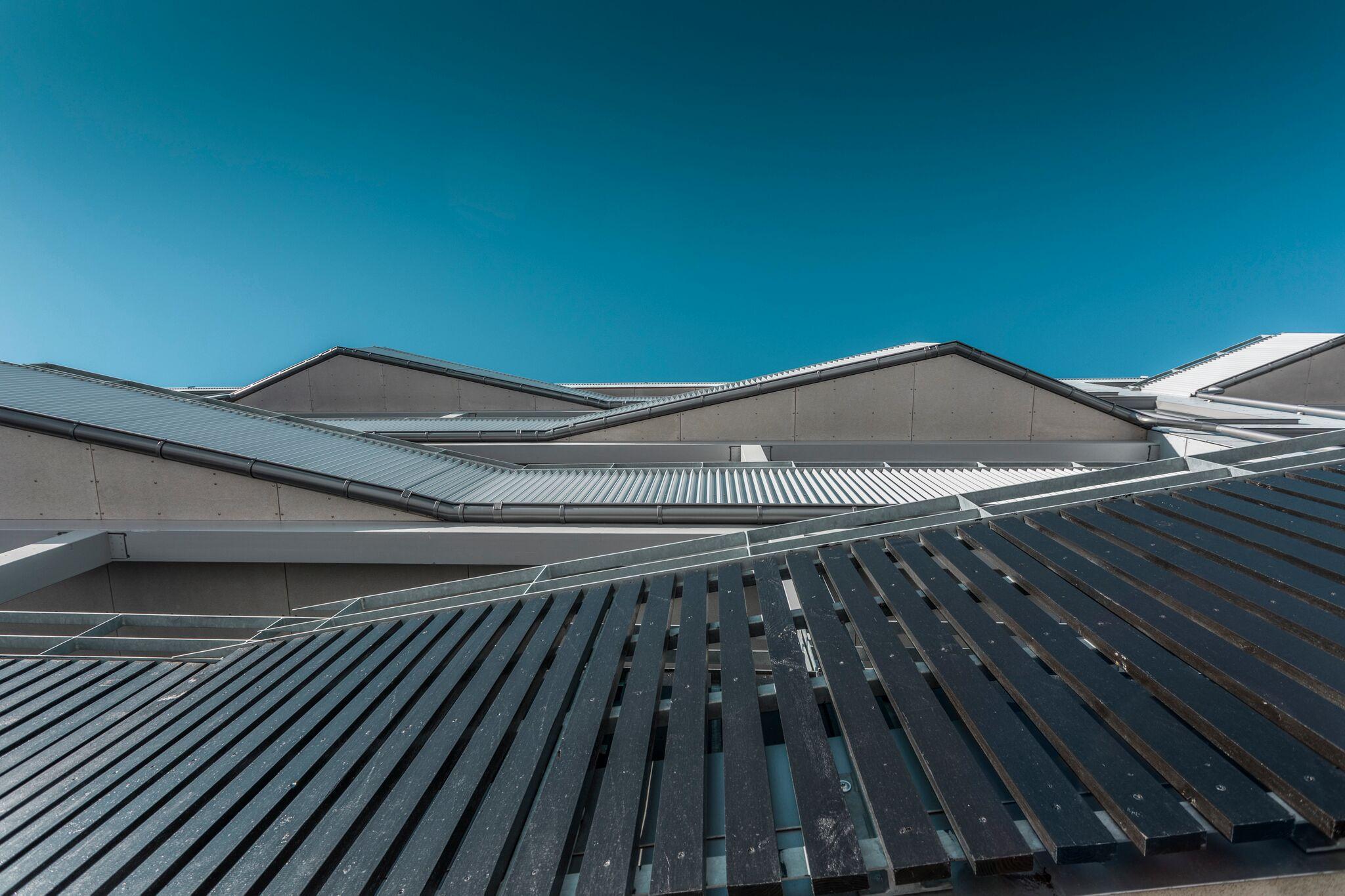 Og tok arkitekturbilder av Lade Alle!