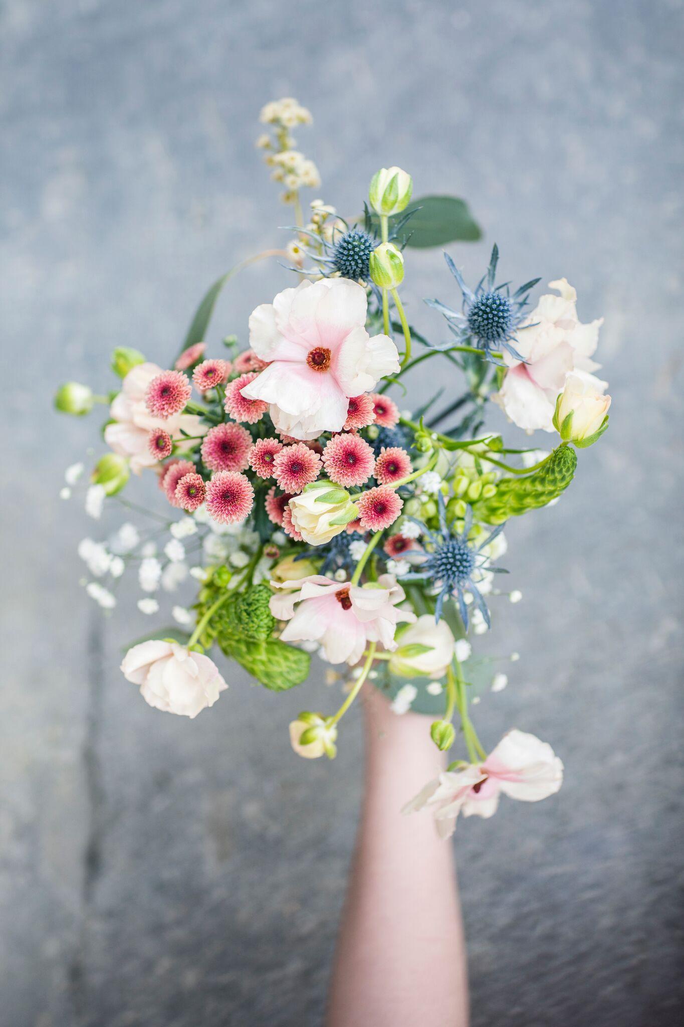 Blomster altså. Noe så fint og givende å jobbe med!