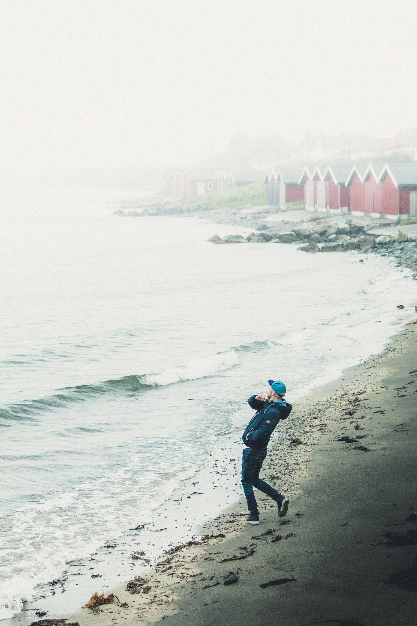 Ståle Gerhardsen hadde utstillingen Havet     som vi dokumenterte!
