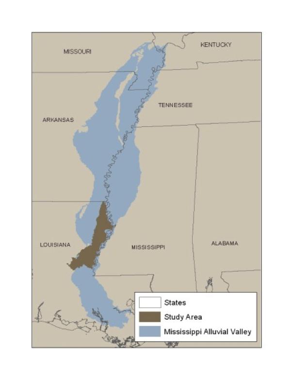 Tensas HGM, Louisiana - Download the zip file of the Tensas Basin PNV GIS data (26.3 MB)View or Download a PDF of the Ouachita and Tensas Basin PNV Field Atlas