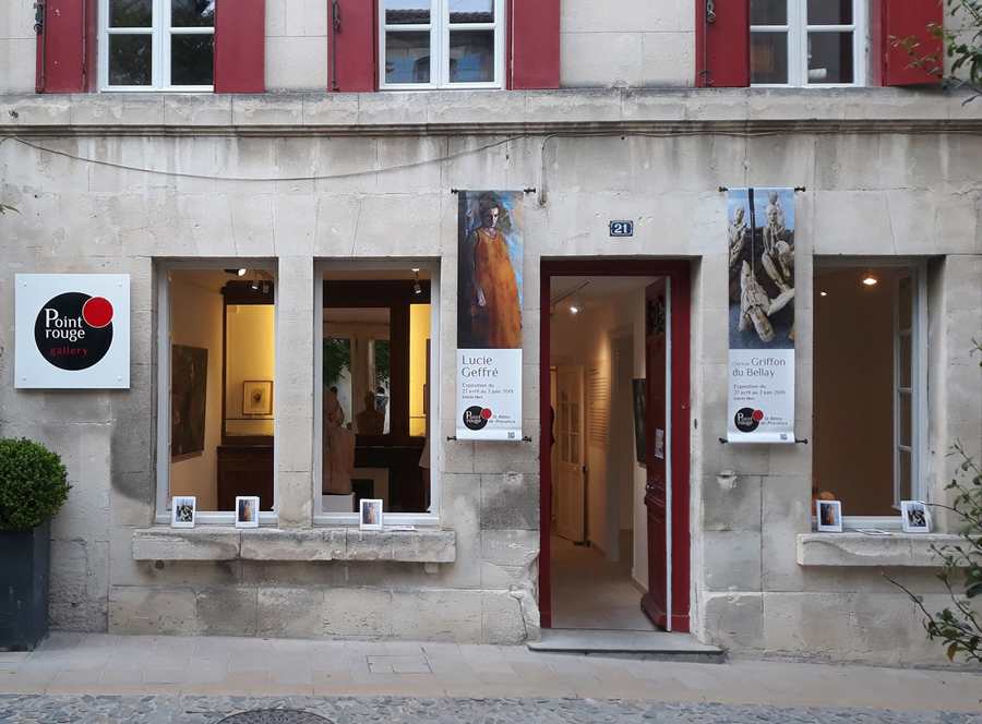Point Rouge Gallery, Saint-Rémy-de-Provence, 2019