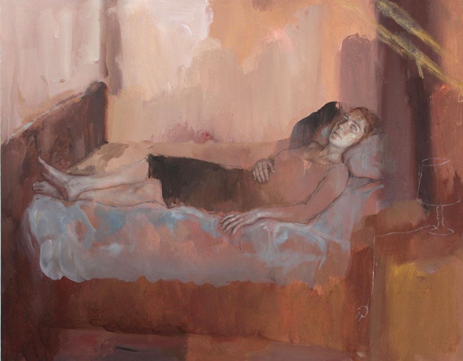 Burnt Sienna (in bed series)