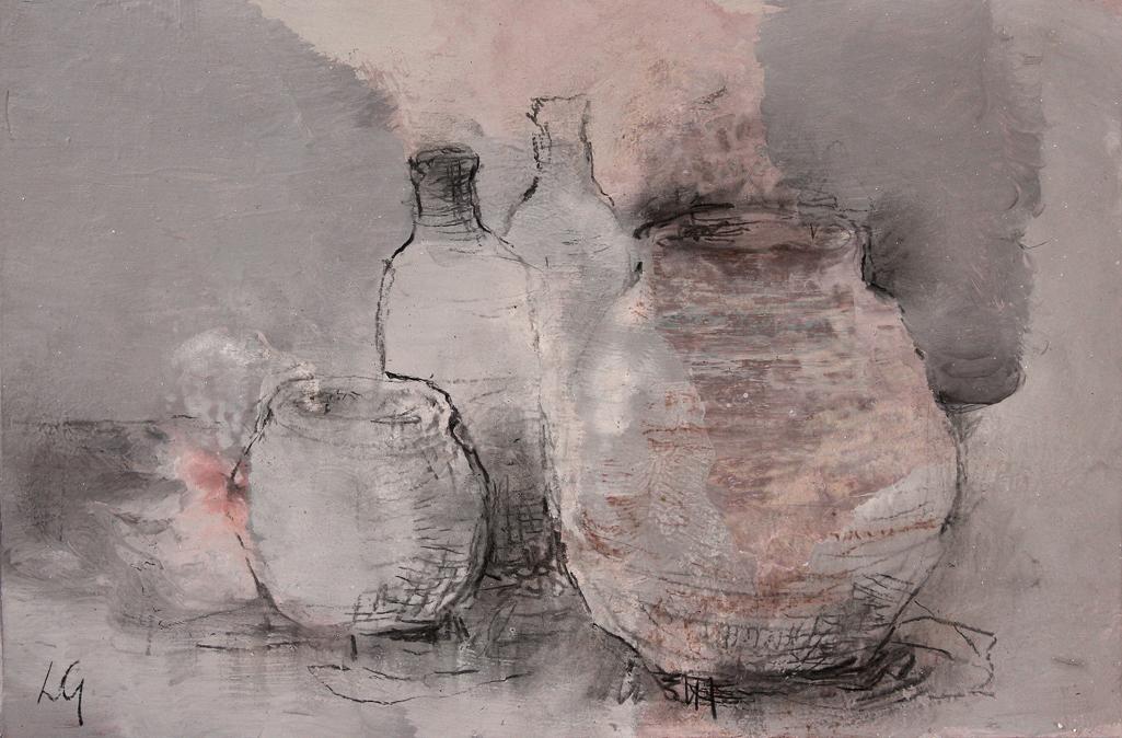 Deux pots, deux bouteilles