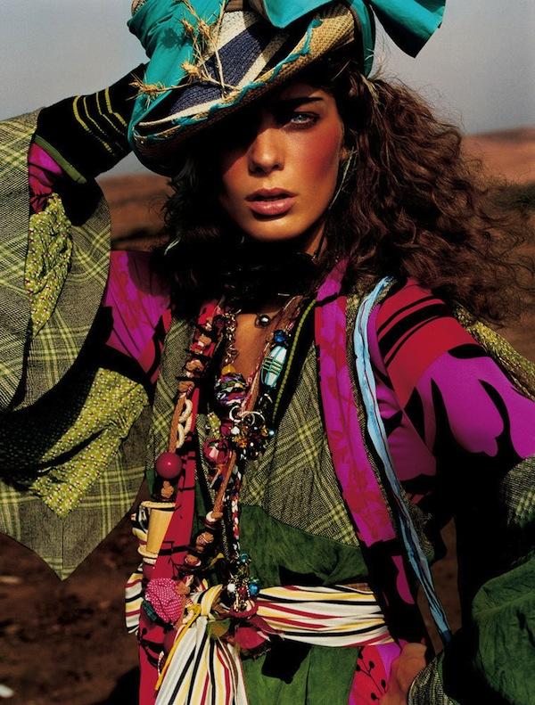British Vogue style by Lucinda Chambers Daria-Werbowy-by-Mario-Testino-5.jpg