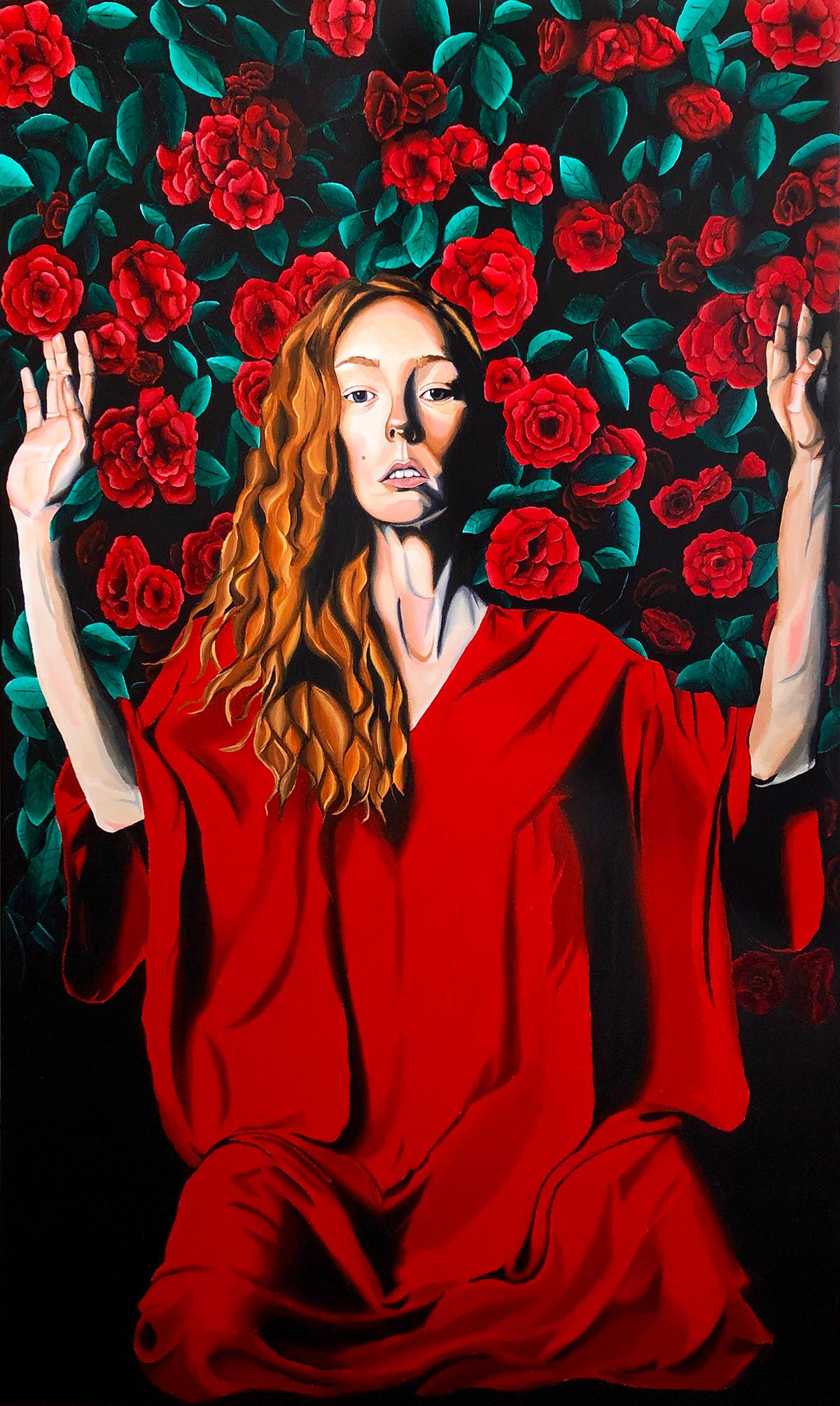 Adele in Roses