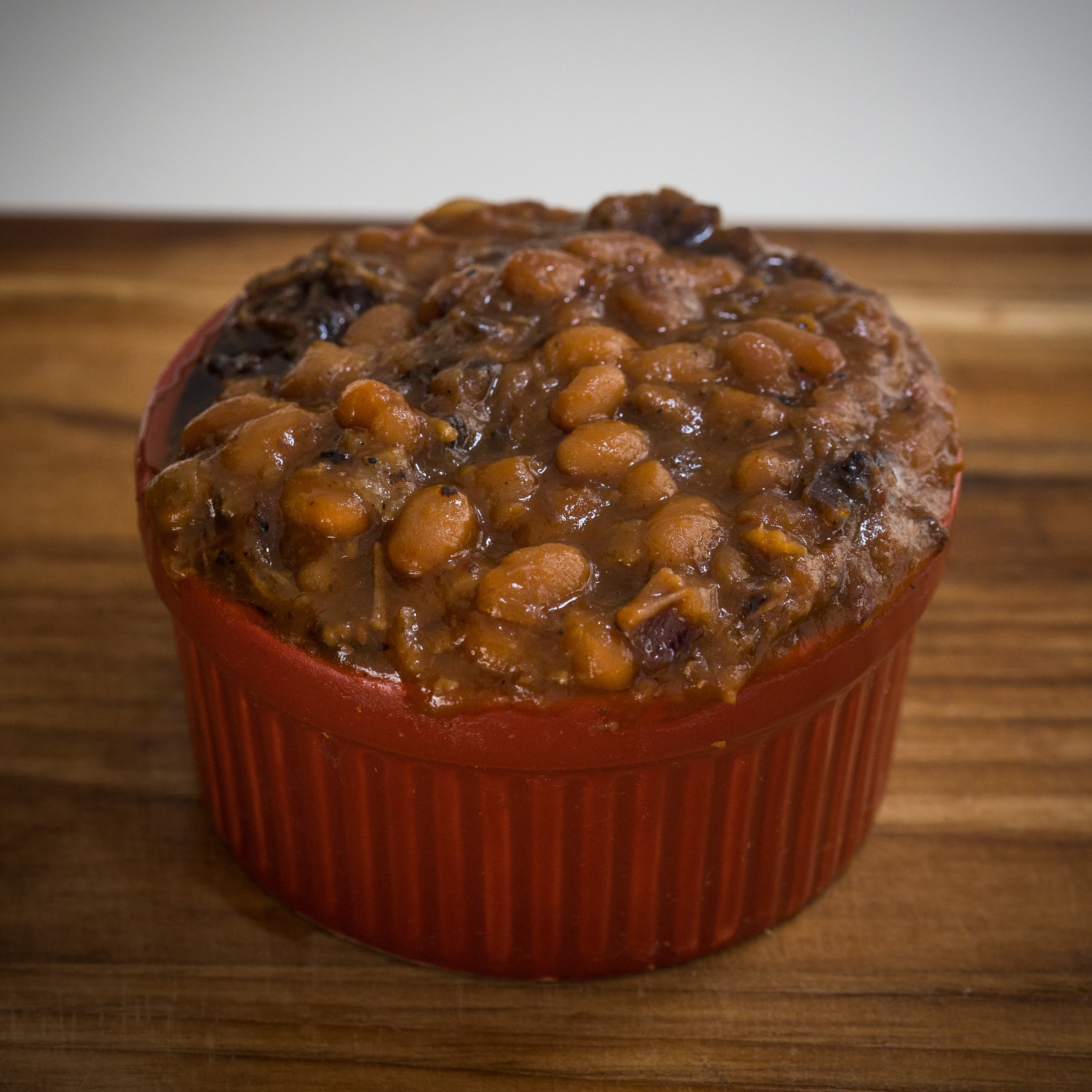 BBQ Baked Beans (1 Tray):  $25.00  1 Tray feeds 12-15 people