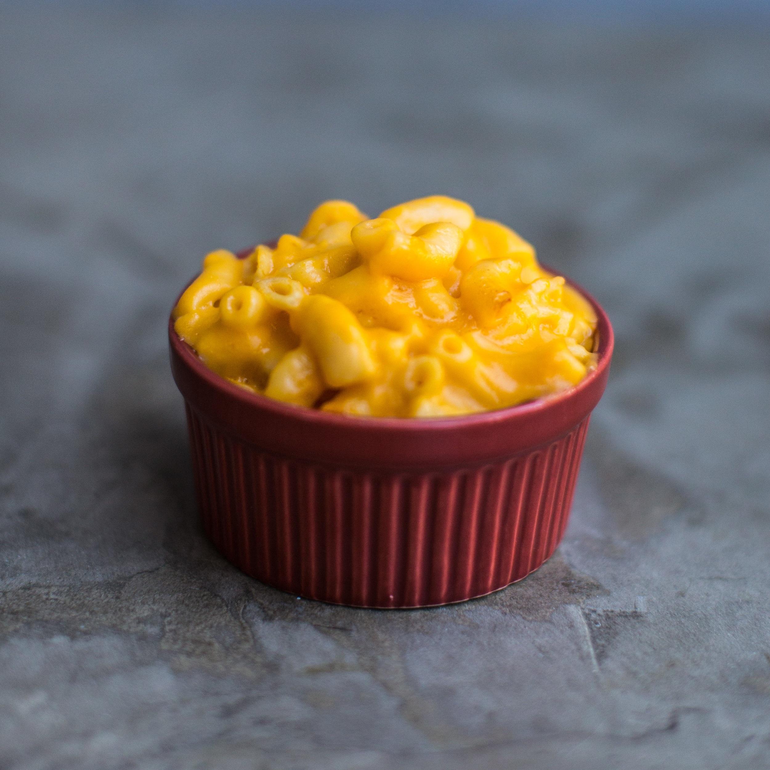 Mac N Cheese (1 Tray):  $25.00  1 Tray feeds 12-15 people