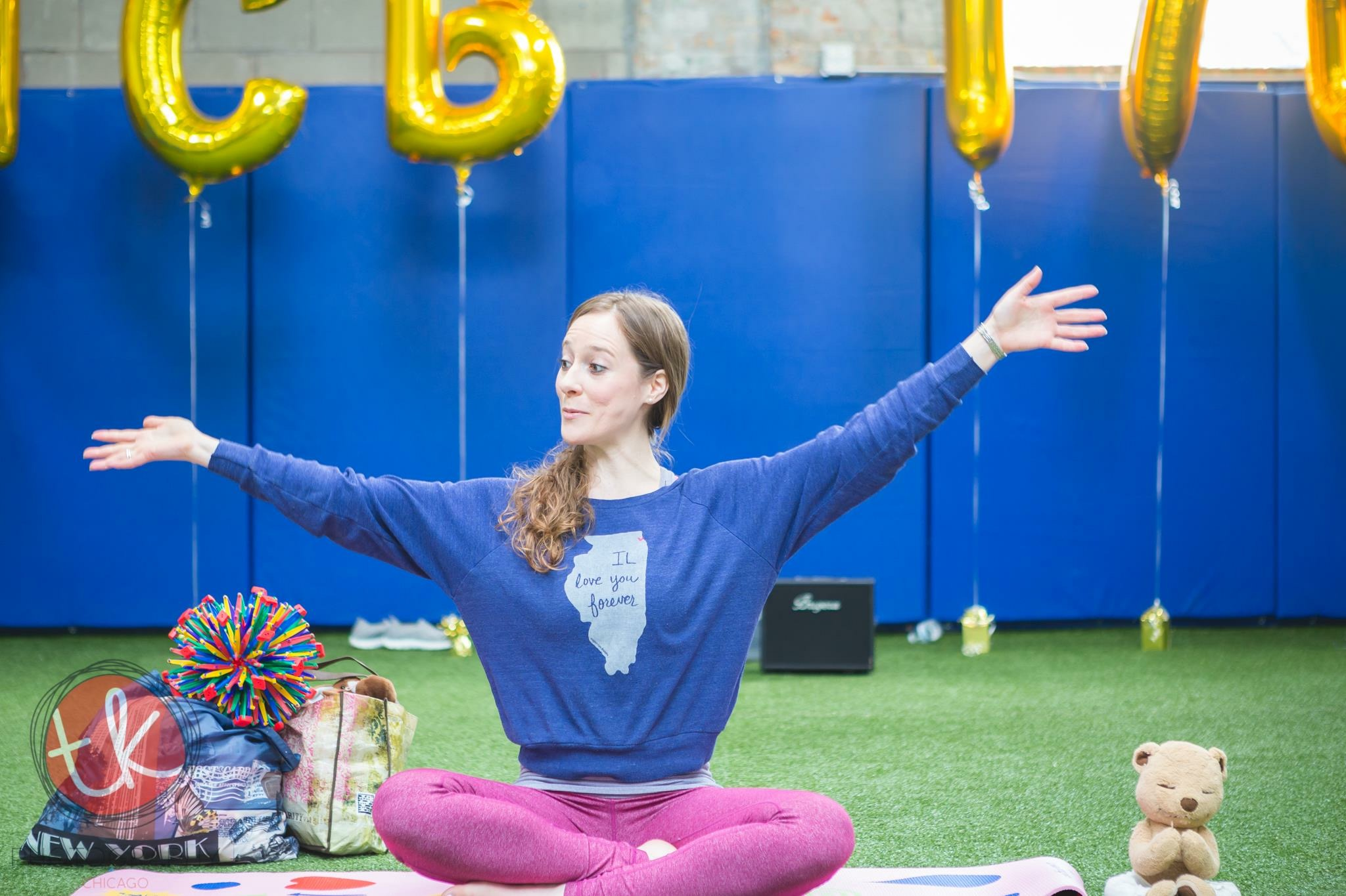 Erin Bracco - Erin Bracco is the co-founder of Buddha Belly Kids Yoga and is excited to spread her love of yoga to her favorite people in the world: children. For seven years, she was a classroom teacher and holds a Bachelor of Science Degree in both Elementary Education and Special Education from Vanderbilt University. Her passion for child development is evident in both her teaching and yoga practice as she fosters newfound confidence and body awareness through the unique Buddha Belly curriculum. Erin thrives on helping little beings explore their world by giving them new tools to make sense of their surroundings. She believes there is no better medium than yoga to harness the positive, contagious energy of children. Erin is a Registered Children's Yoga Teacher through Yoga Alliance. She has completed her 200hr teacher training at Zen Yoga Garage in Chicago, 95 hour kids teacher training through Rainbow Kids Yoga, and holds a certificate in partner yoga through Rainbow Partner Yoga. Additionally, she successfully completed the Mindful Fundamentals and Mindful Educator Essentials certifications through Mindful Schools.
