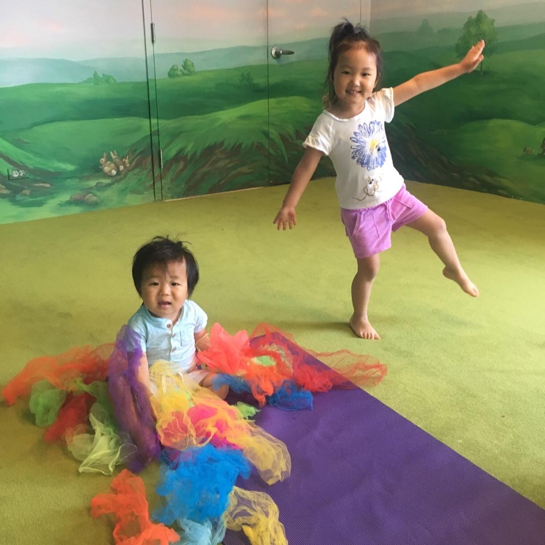 bubbles family yoga - Ages: All ages welcome + caregiverThursdays (9/5-10/24)12:30-1:15 PMLocation: Bubbles Academy