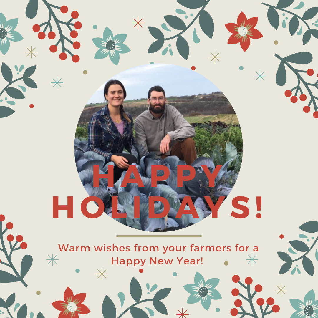 May your - holidays be filled with love, joy, and prosperity. Thank you for supporting us in 2018, we look forward to growing for you in 2019!