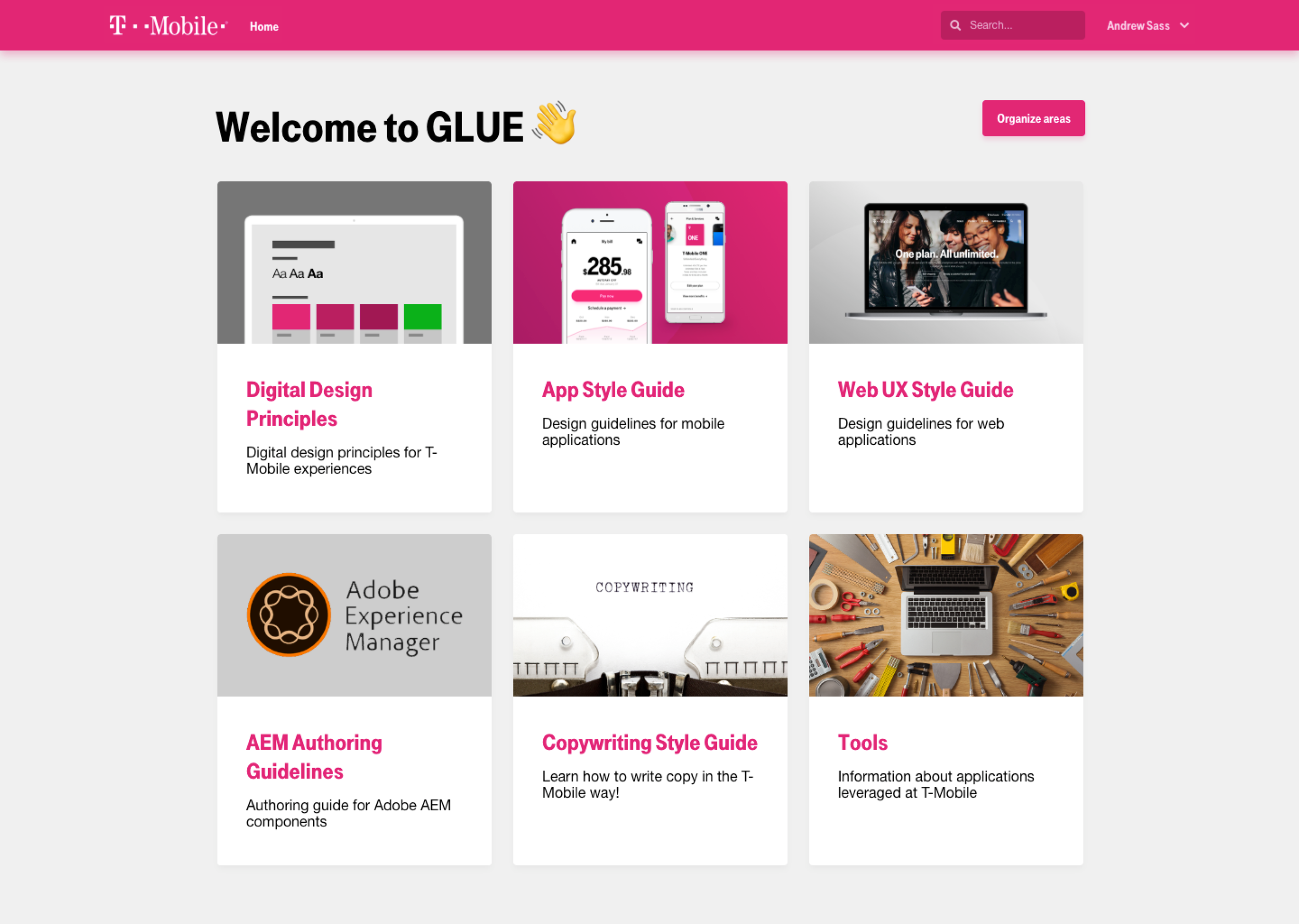 GLUE Homepage