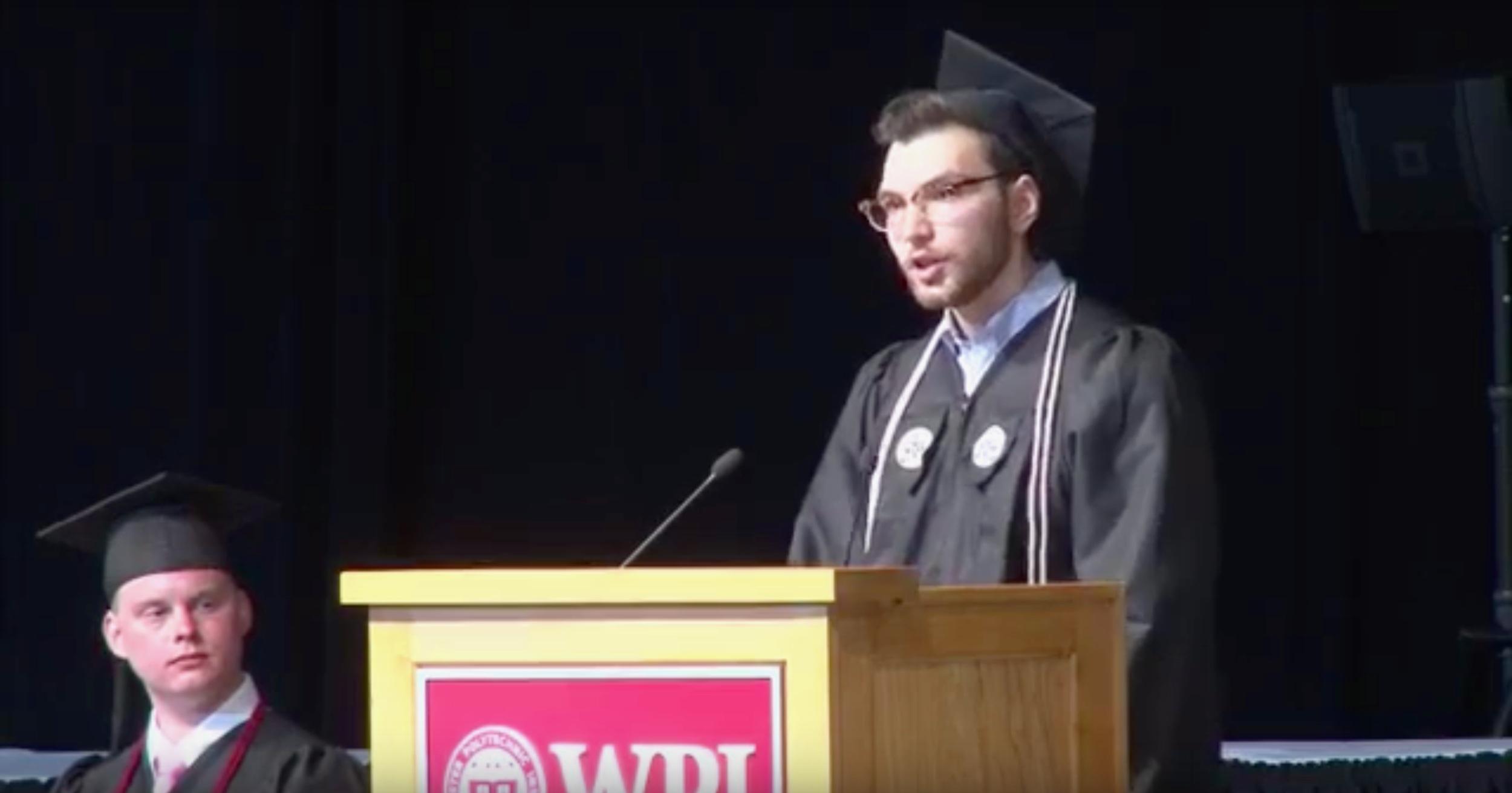 Learning to Learn (WPI Graduation Speech)
