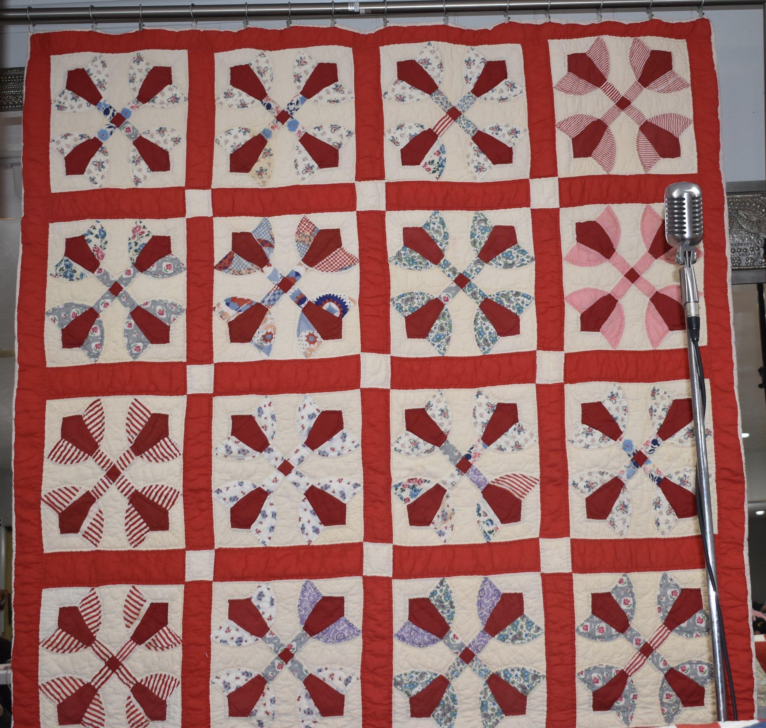 "Francine Vickers ""Tulip Pattern Piece"""