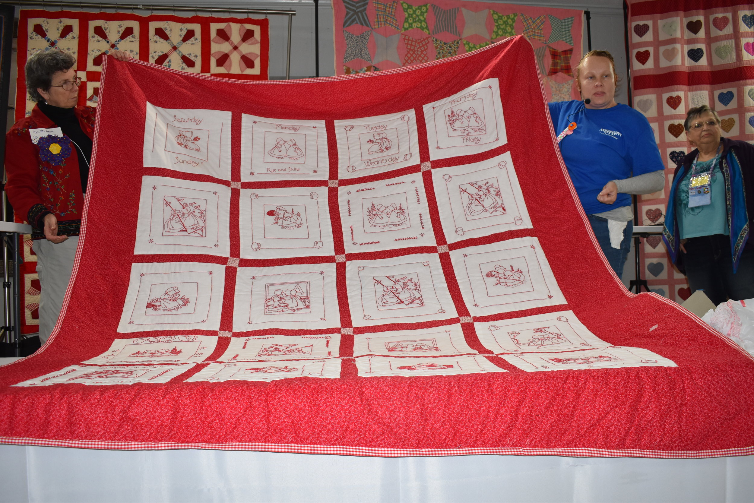 - Another one of her quilts —