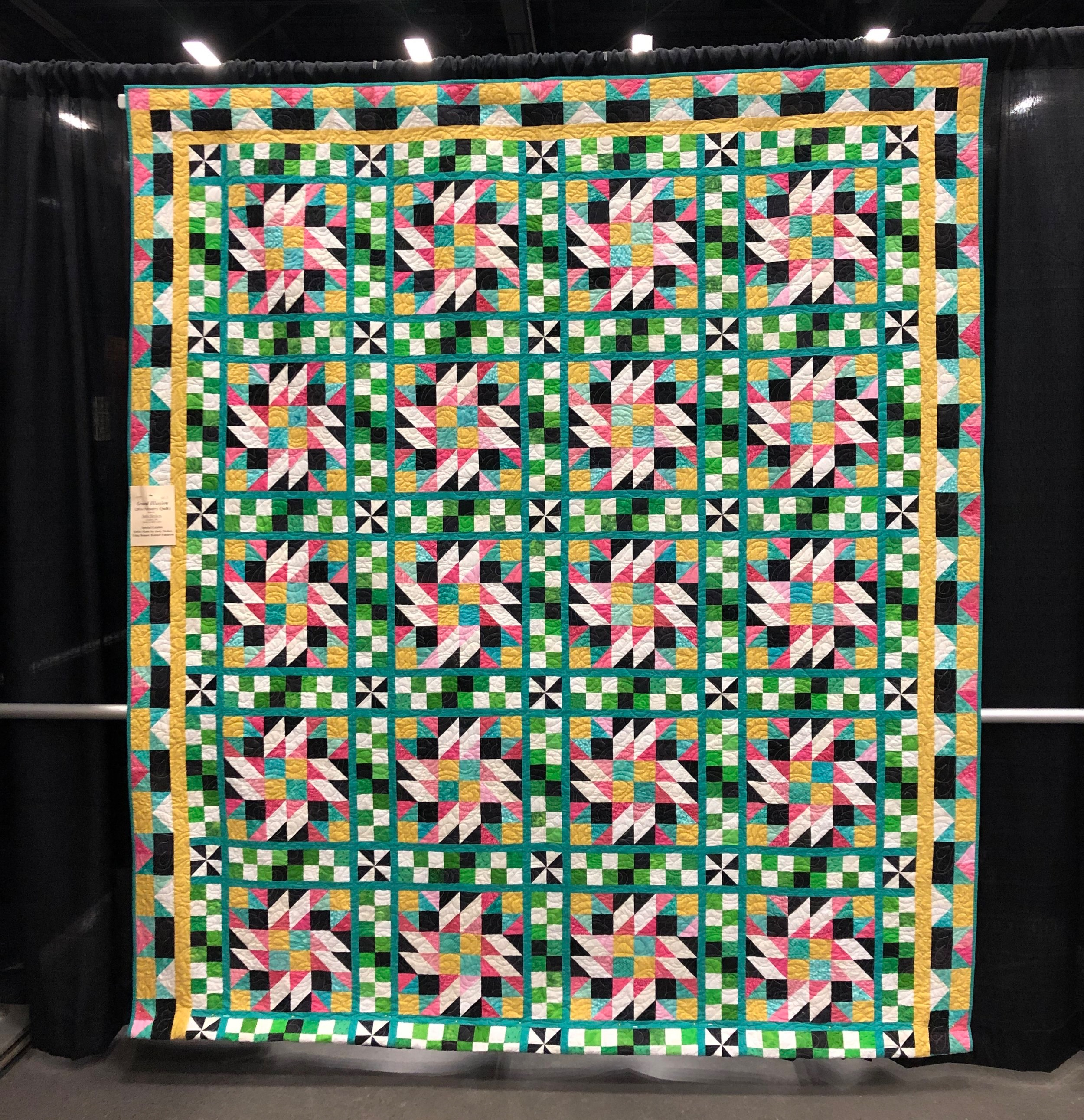 Grand Illusion - Mystery Quilt