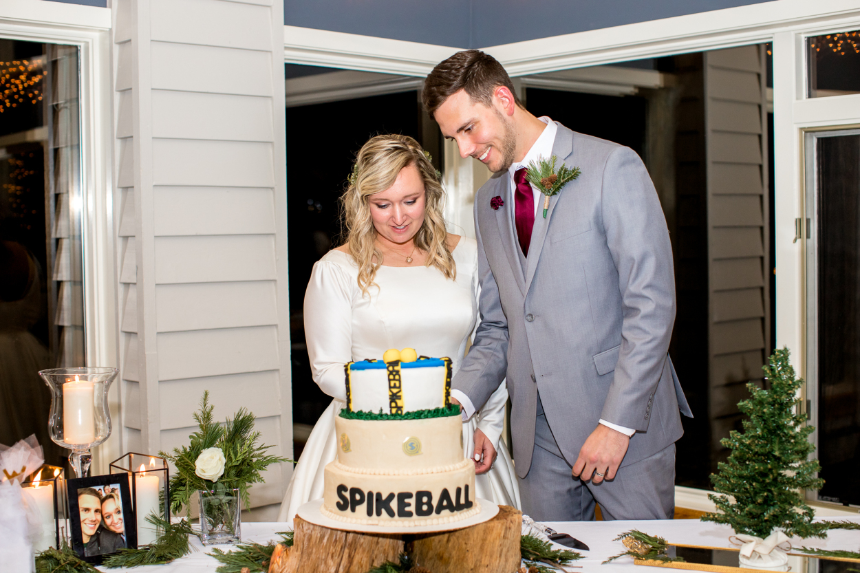 The cake was so cute! If you have no idea what Spikeball is, we highly recommend googling it. The perfect summer activity for the beach!