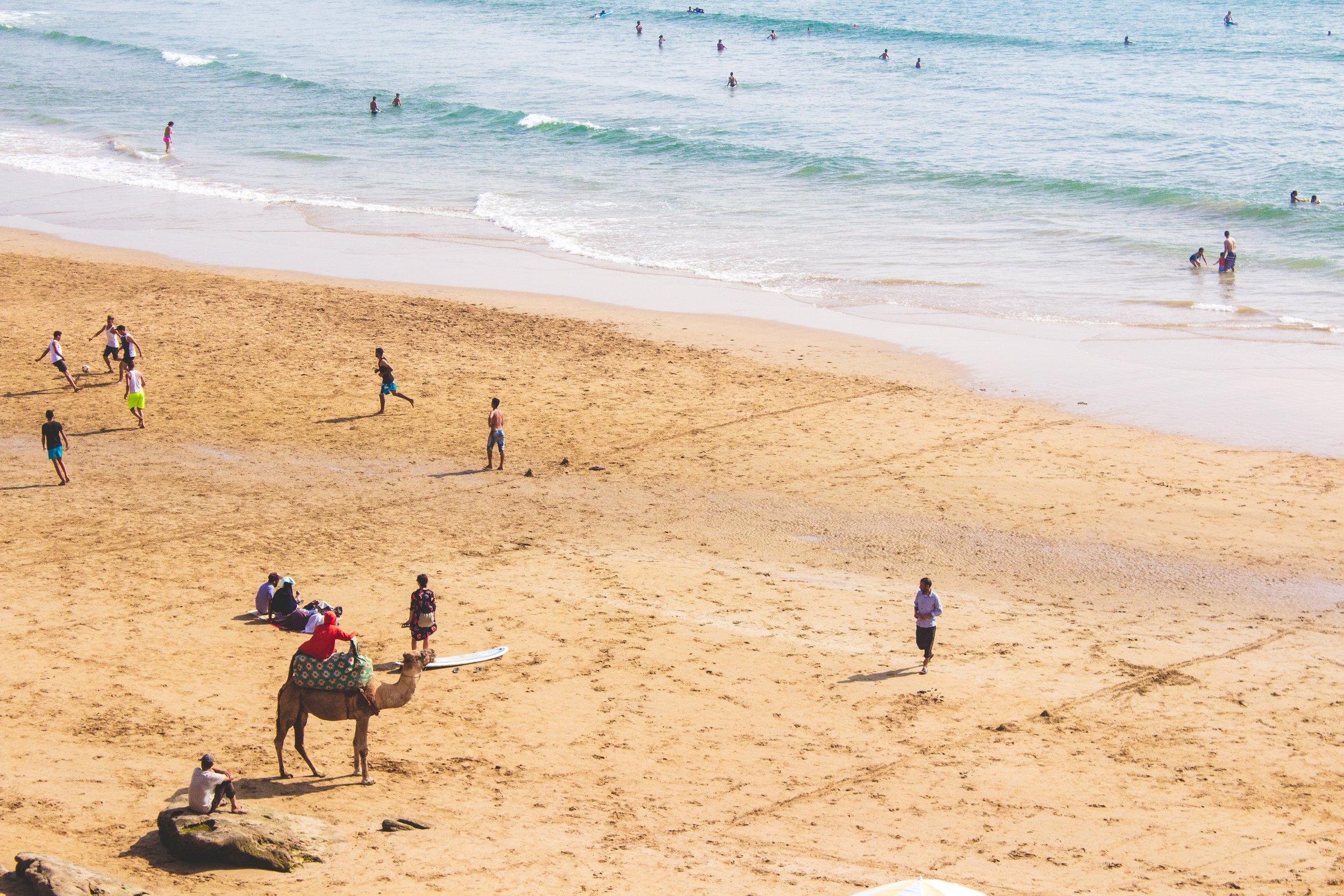 Beach break Morocco