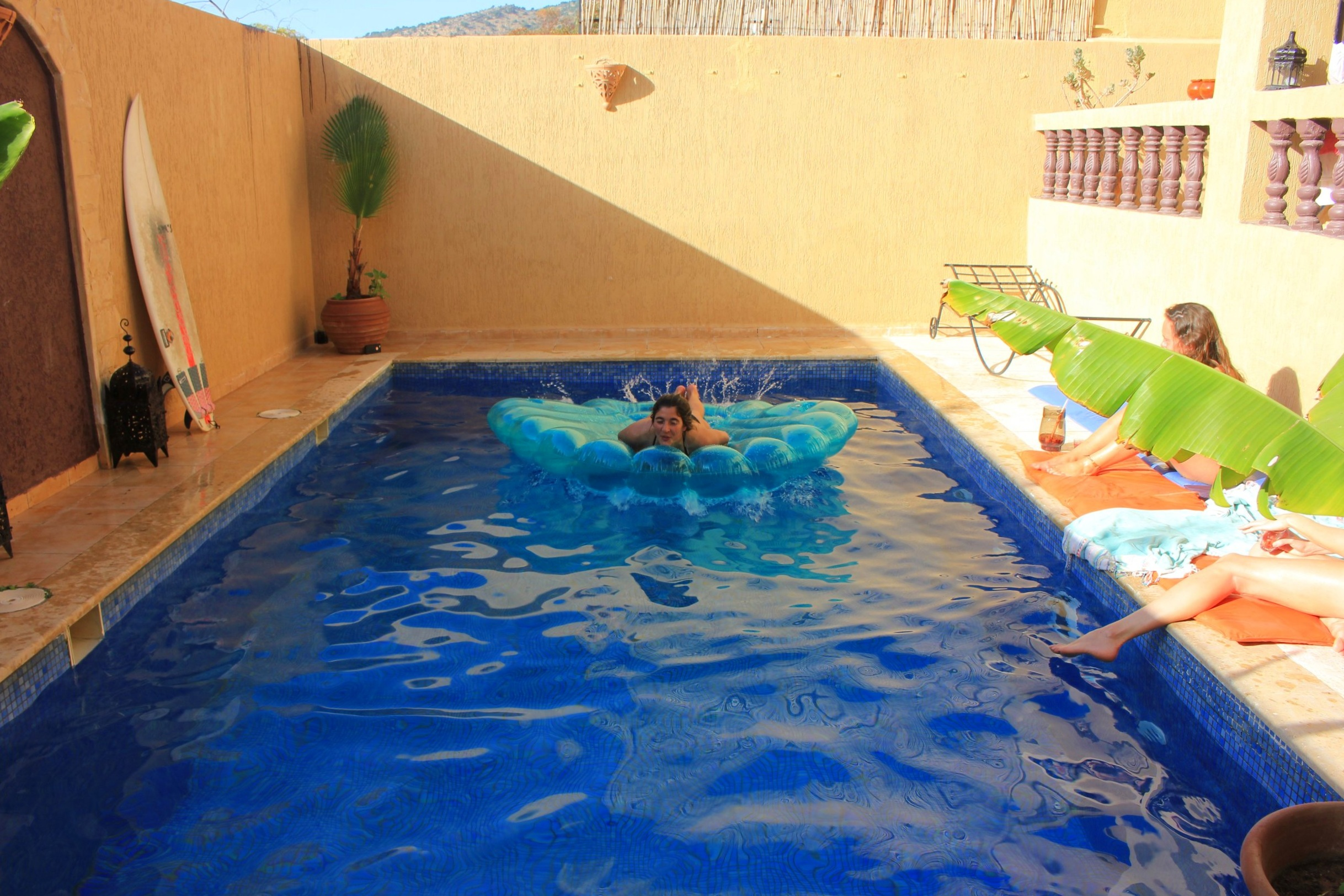 Pool Taghazout area
