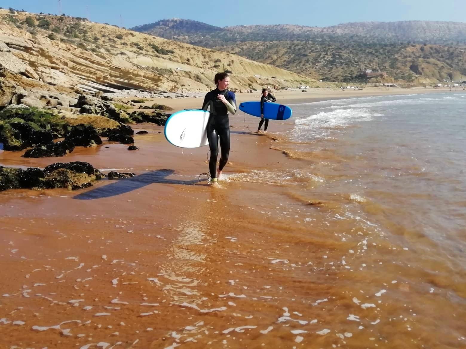 Surf+coaching+Morocco