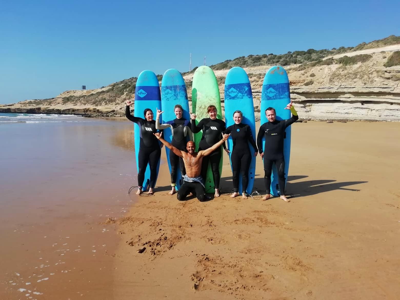 Surf crew Morocco