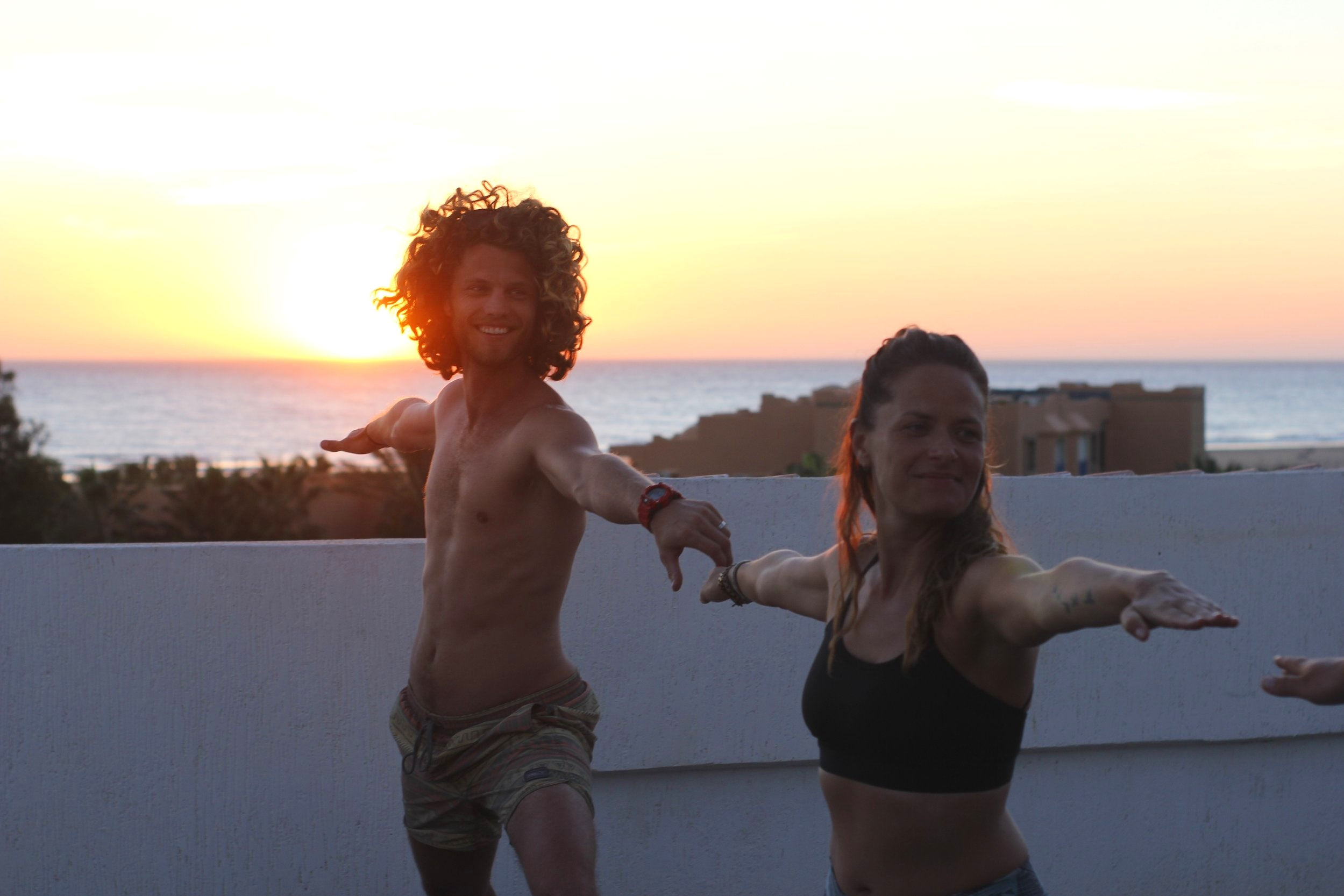 Surf and yoga Morocco