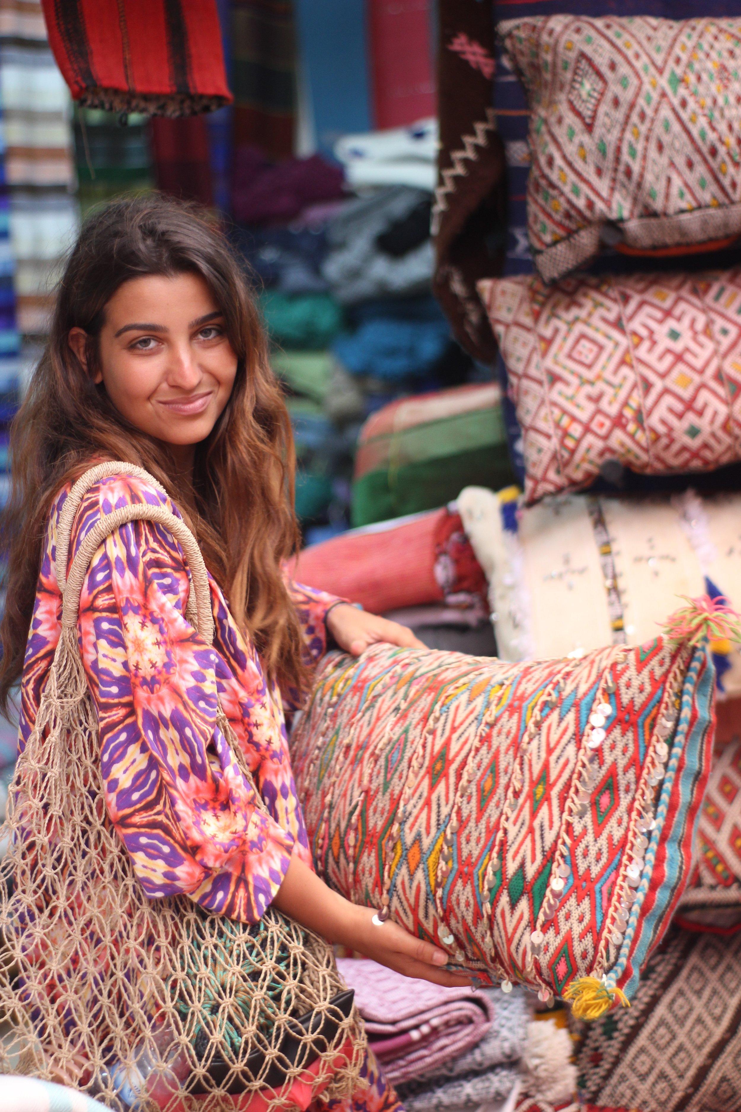 Carpet hunting in Morocco
