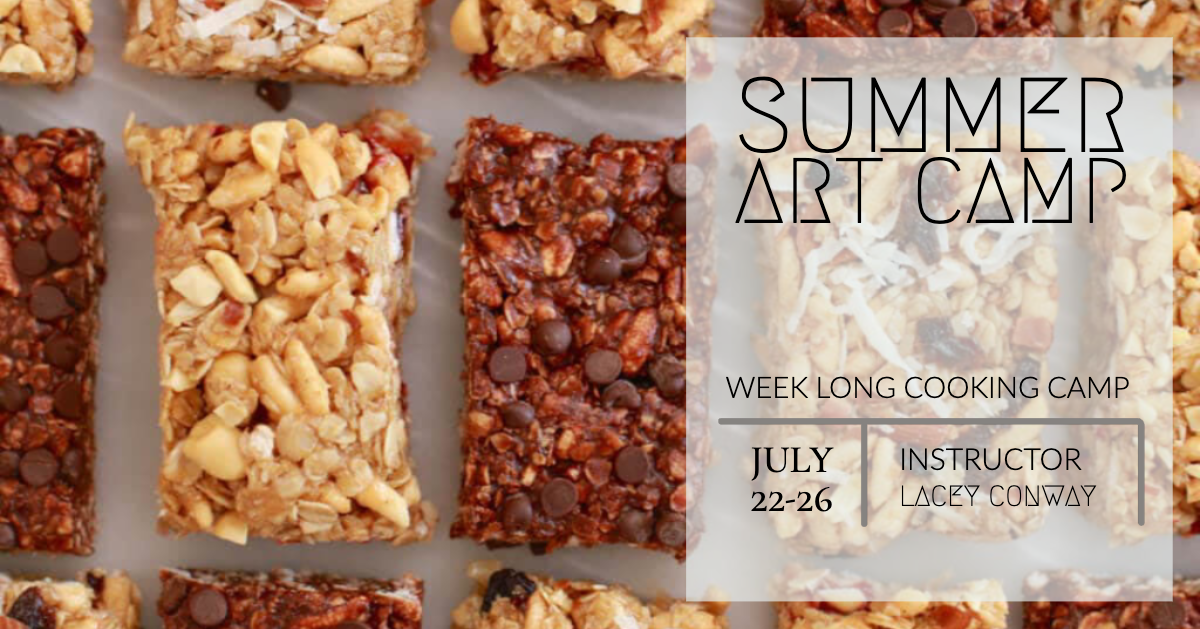 Cooking Camp at Stewart Heath Gallery