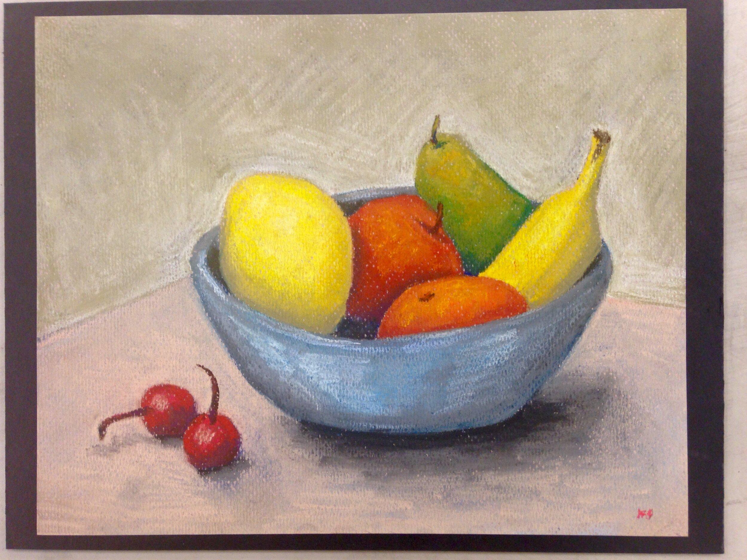 Pastels Fruitbowl