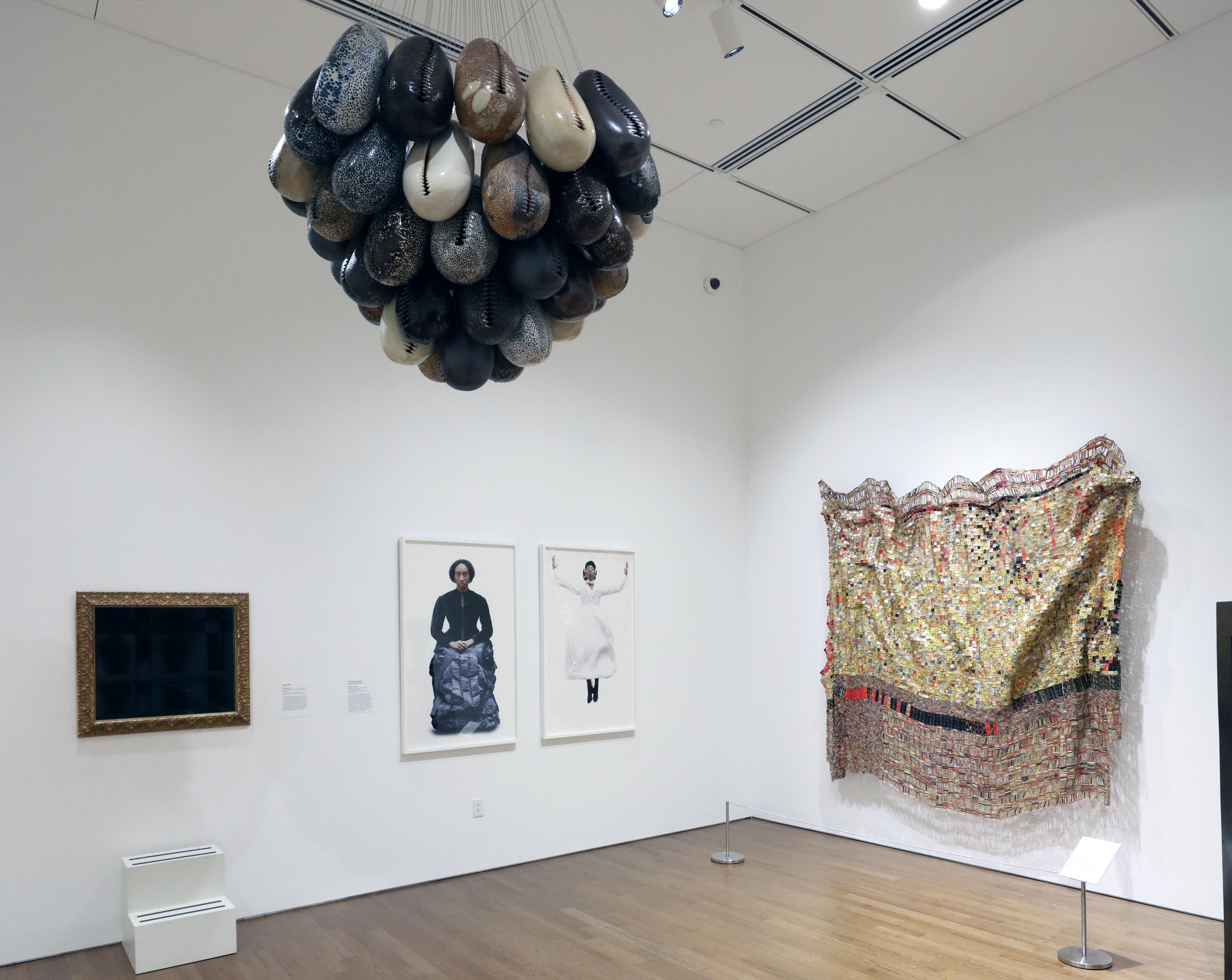 Arts of Global Africa  Gallery featuring works of Ayana V Jackson, Simone Leigh, El Anatsui and more | Photo Credit: Anthony Alvarez